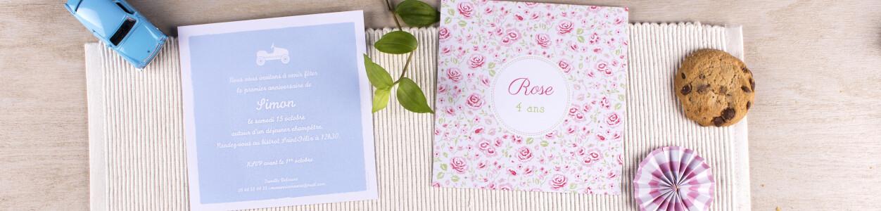 Texte Pour Cartes D Invitation Anniversaire Atelier Rosemood
