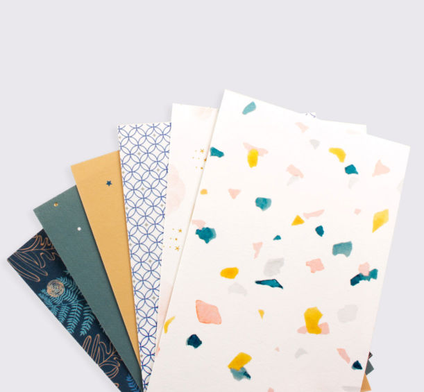 Lot de 6 cartes illustrées - Atelier Rosemood