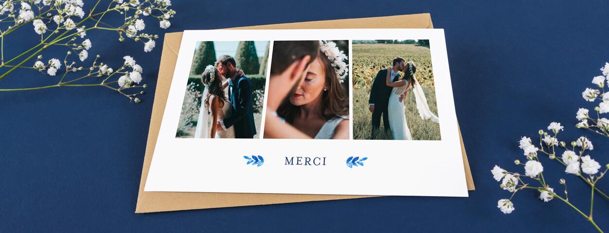 Idées De Textes De Cartes De Remerciement Mariage